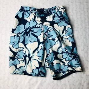 Micros Floral Kids Trunks Size:6